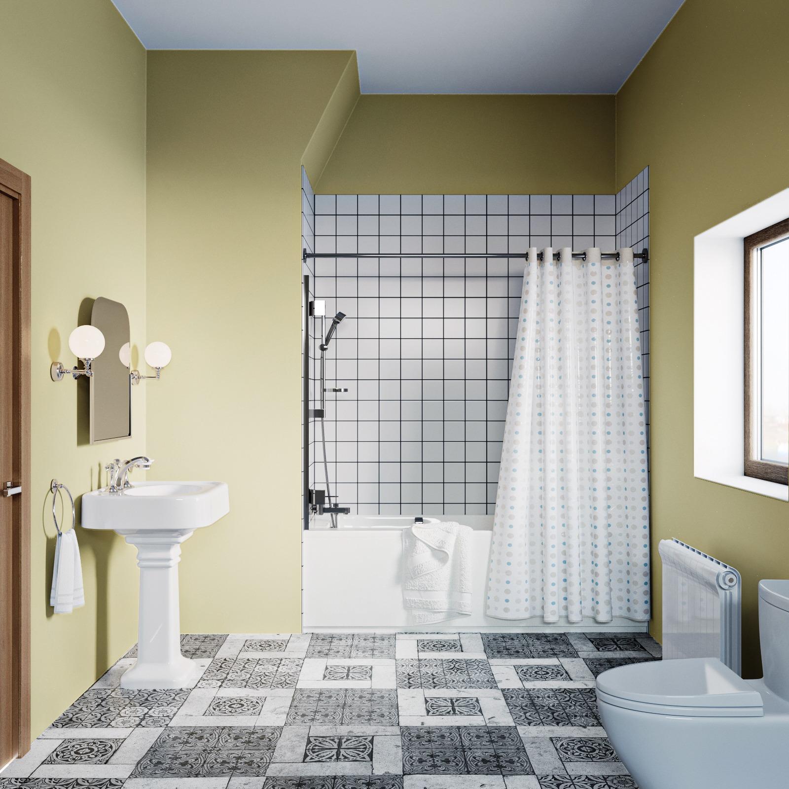bad naar douche renovatie 1